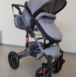 Детская коляска 2в1 новая