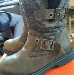 Boots pentru copii 30 r. Pentru fete