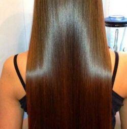 Botox polishing hair straightening