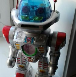 Το ρομπότ χορεύει και λέει παραμύθια.