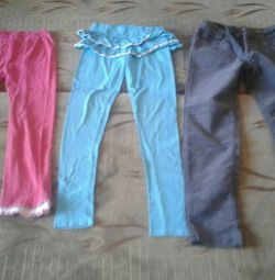 Pants for a girl of 9-11 years old