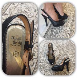 İtalyan sandaletleri 38 r