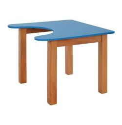 CHILD TABLE HM10187.05 BLUE INDIVIDUAL NATURAL FASHION