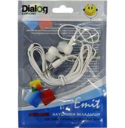 Dialog EP-10W Λευκά ακουστικά