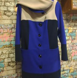 The coat is cashmere. P 46-48.