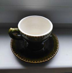 Fincan ve fincan tabağı