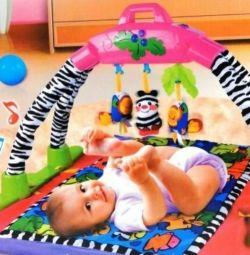 Το παιδικό χαλί με μουσική, νέο