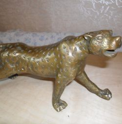 Figurine Panther bronz