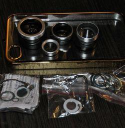 Set de 4 lentile pentru iPhone