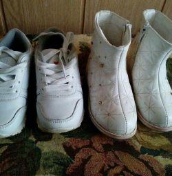 Μπότες και αθλητικά παπούτσια