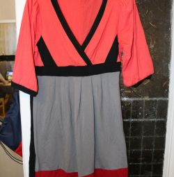 Платье летнее, хлопок, 44-46 размер