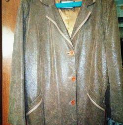 Куртка женская кожа 56 раз