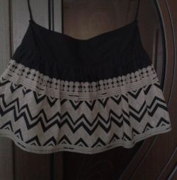 Skirt with an interesting pattern