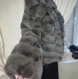 Nou !!!! Palton de blană de castor tăiat! ???