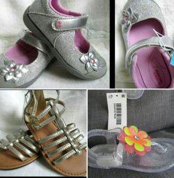 Девочке 24 25 р кеды сандалии туфли Carters Old na