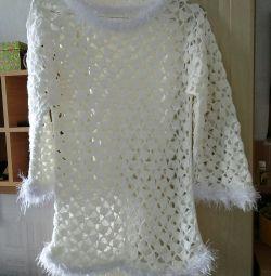 Coco crochet tunic handmade