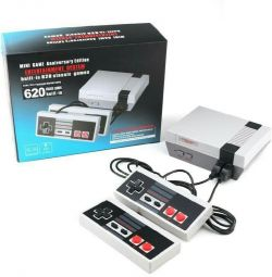 Game console for 620 games dandy, dendy, nes