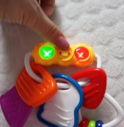Rattle Toy Traffic Light