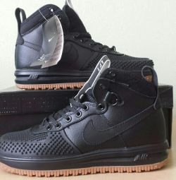 Кросівки Nike Lunar Force 1 Duckboot Black