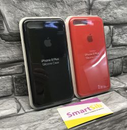 Cover for iPhone 7 + / 8 + Red / Black