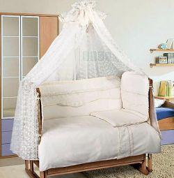 Комплект для кроватки «Королевское величество»