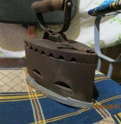 Utig antique coal with stand
