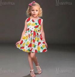 Summer dress for girl