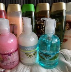 Set (shower gel and liquid soap) 250ml