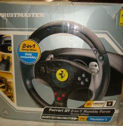 Руль Thrustmaster Ferrari GT 2-in-1 Rumble Force