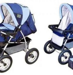 New Italian stroller-transformer