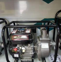 Pompe de apă pe benzină.