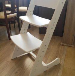 YENİ. Ayarlanabilir çocuk sandalyeleri ___ 'dan MASSIVA PINE