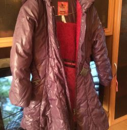Χειμερινό παλτό για ύψος 134