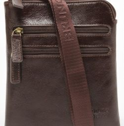 New leather men's bag Bruno Perri (Italy)