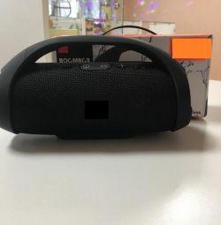 Difuzor bluetooth wireless în negru