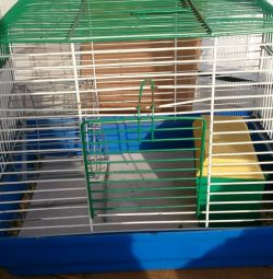 I will sell a cage for a hamster, the size 38 on 28