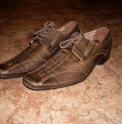 παπούτσια γνήσιου δέρματος