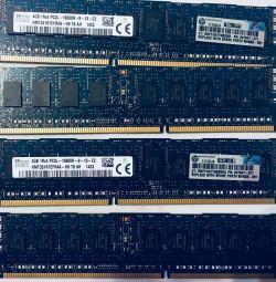 Hynix 4gb 1rx4 pc3l-10600r-9-11 RAM