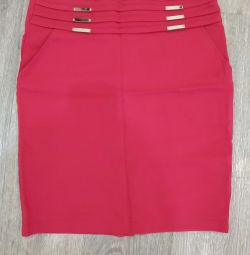 Pencil skirt + gift