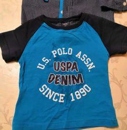 Αμερικανικό Polo Πρωτότυπο. Μπλουζάκι