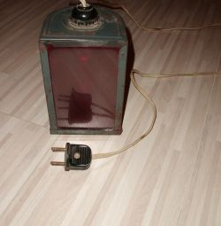 Red photo lamp