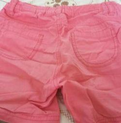 Pantaloni scurți / pantaloni pentru fete