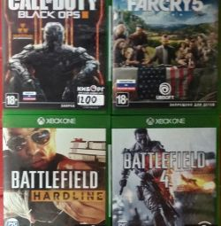 Call of Duty and Battlefield for Xbox One