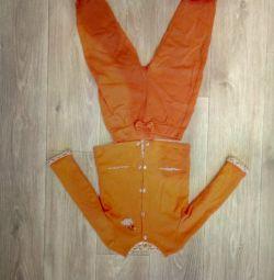 Bir kız için kostüm 86-92