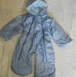 Children's overalls of river 76-80