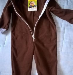 Fleece overalls 86 and 92 solution New with etiquette