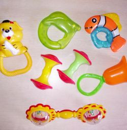 Rattles and teethers