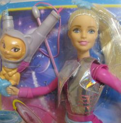 Barbie Space Adventure With Flying Cat