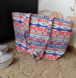 Τσάντα Νέο μεγάλο κουρέλι