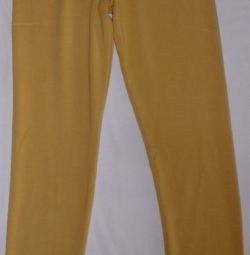 Leggings are yellow, Turkey, r-44